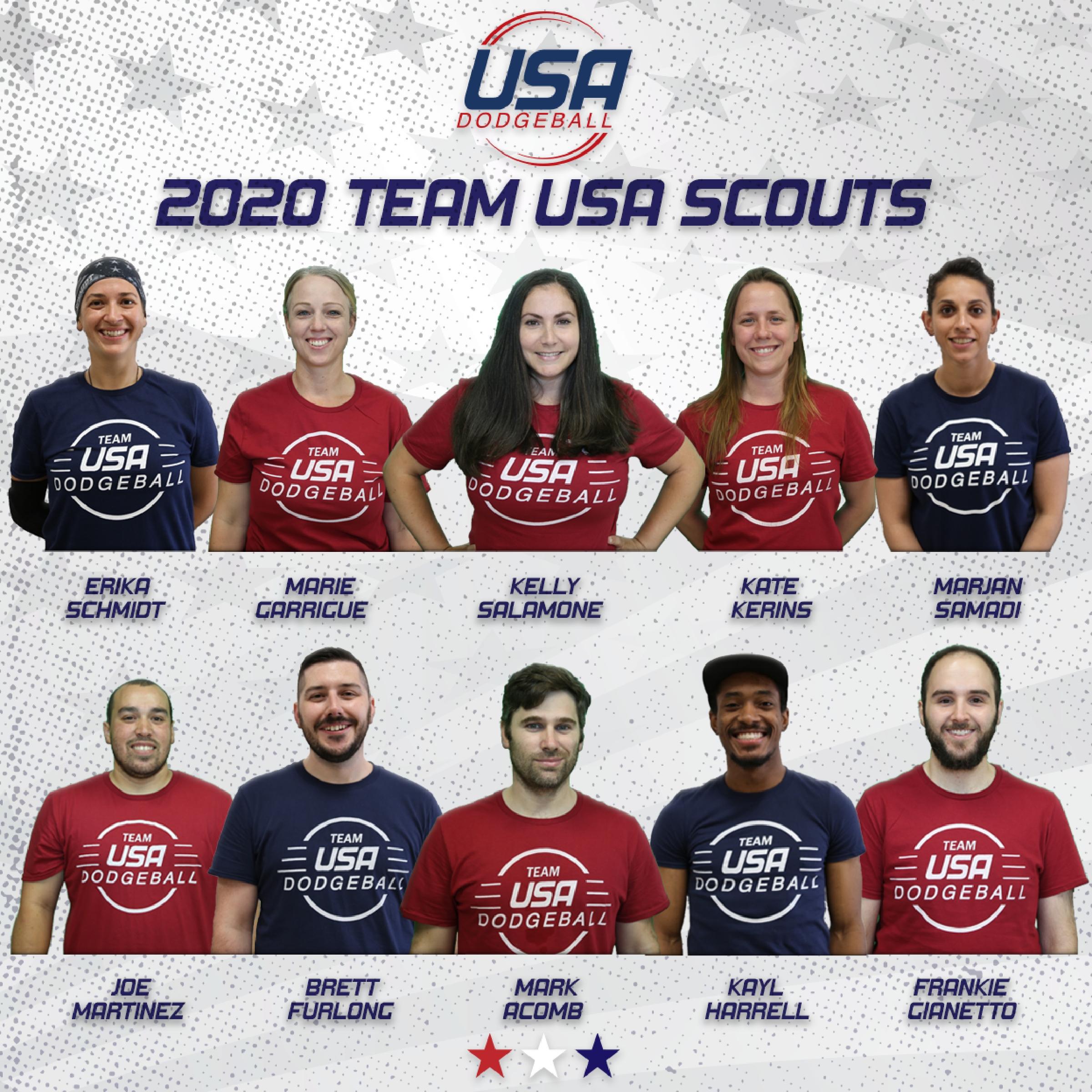 2020 Team USA Scouts