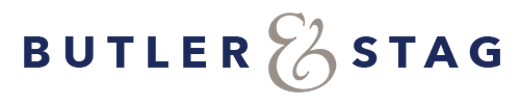 Official logo of Butler &Stag.