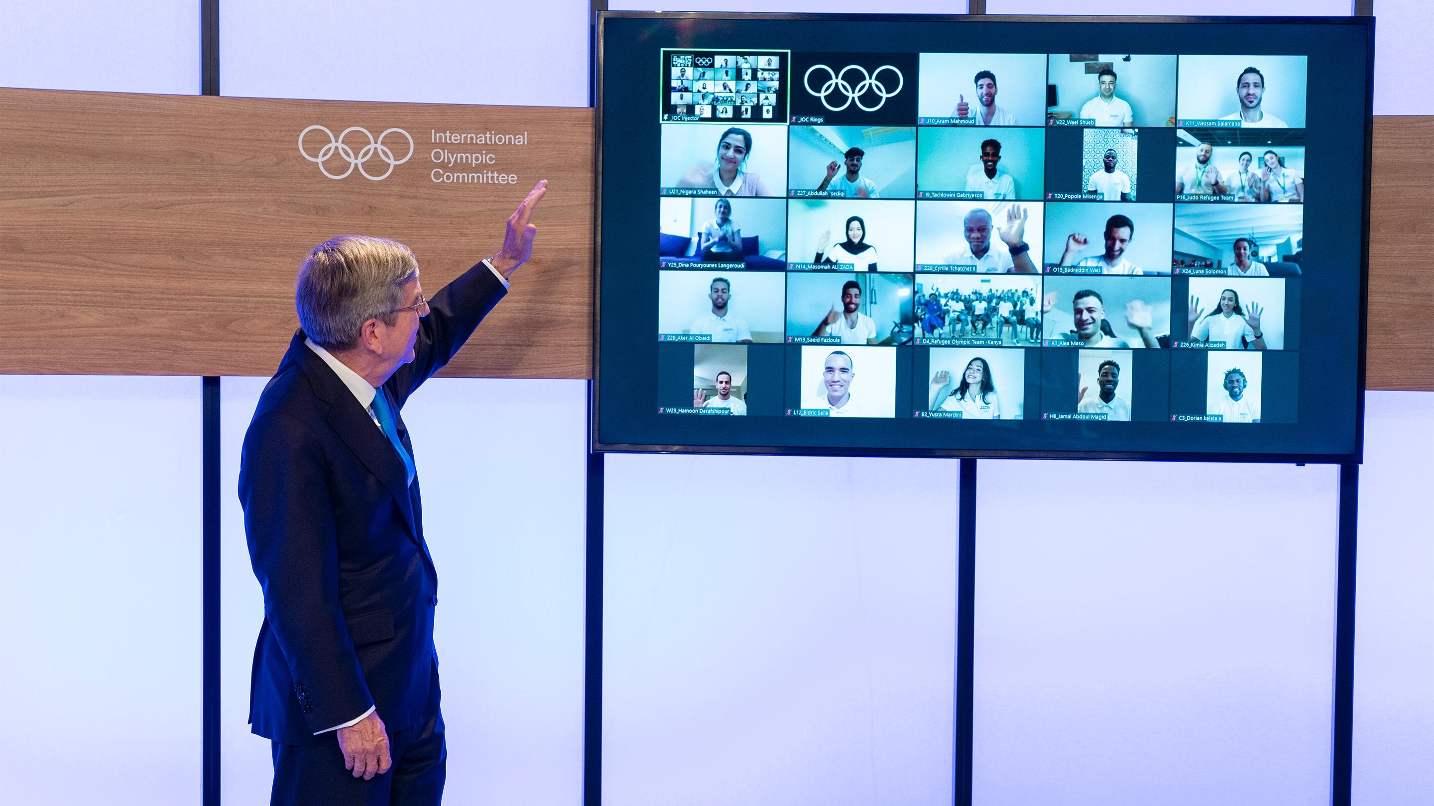 IOC Refugee Olympic Team for Tokyo 2020 Olympic Games announced