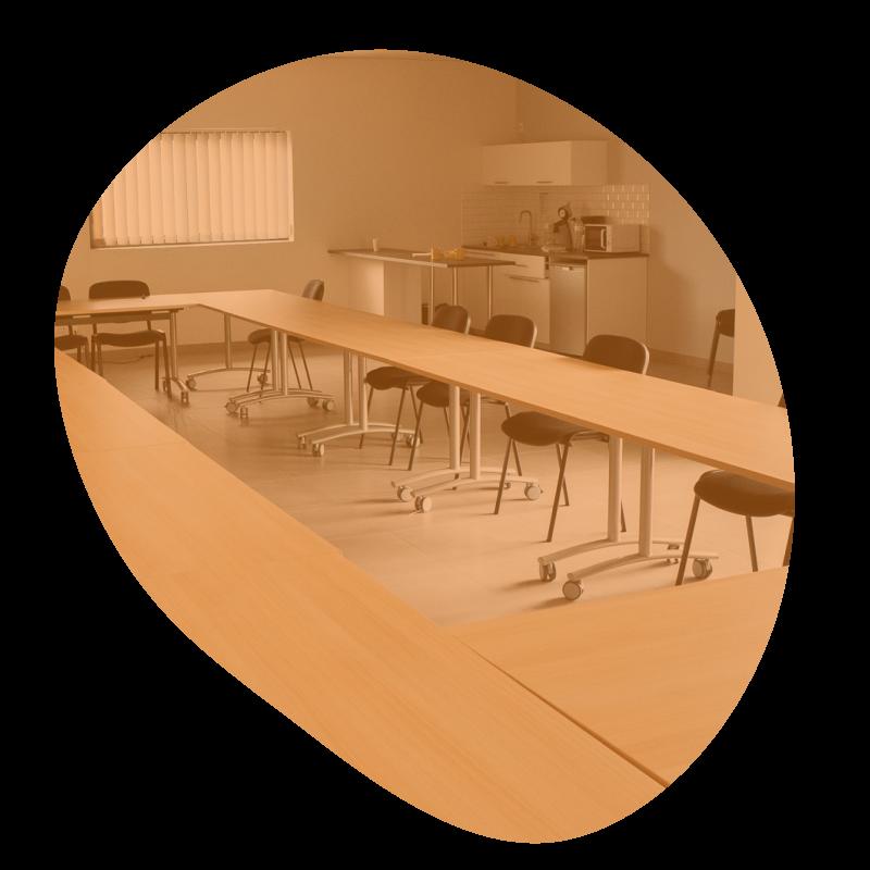 Salle de réunion corporate