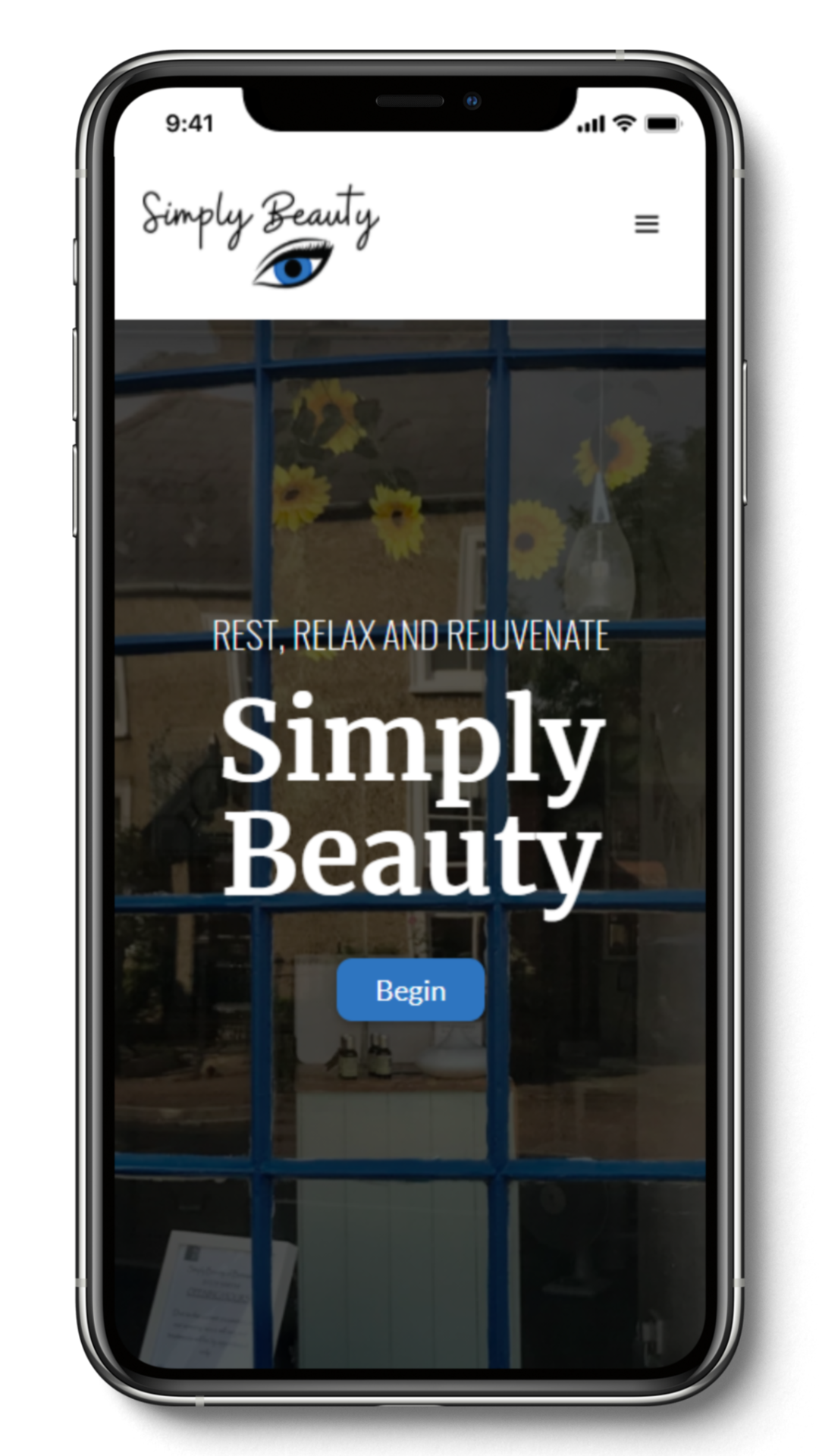 Simply Beauty Webflow Development created by Brett Hudson Design