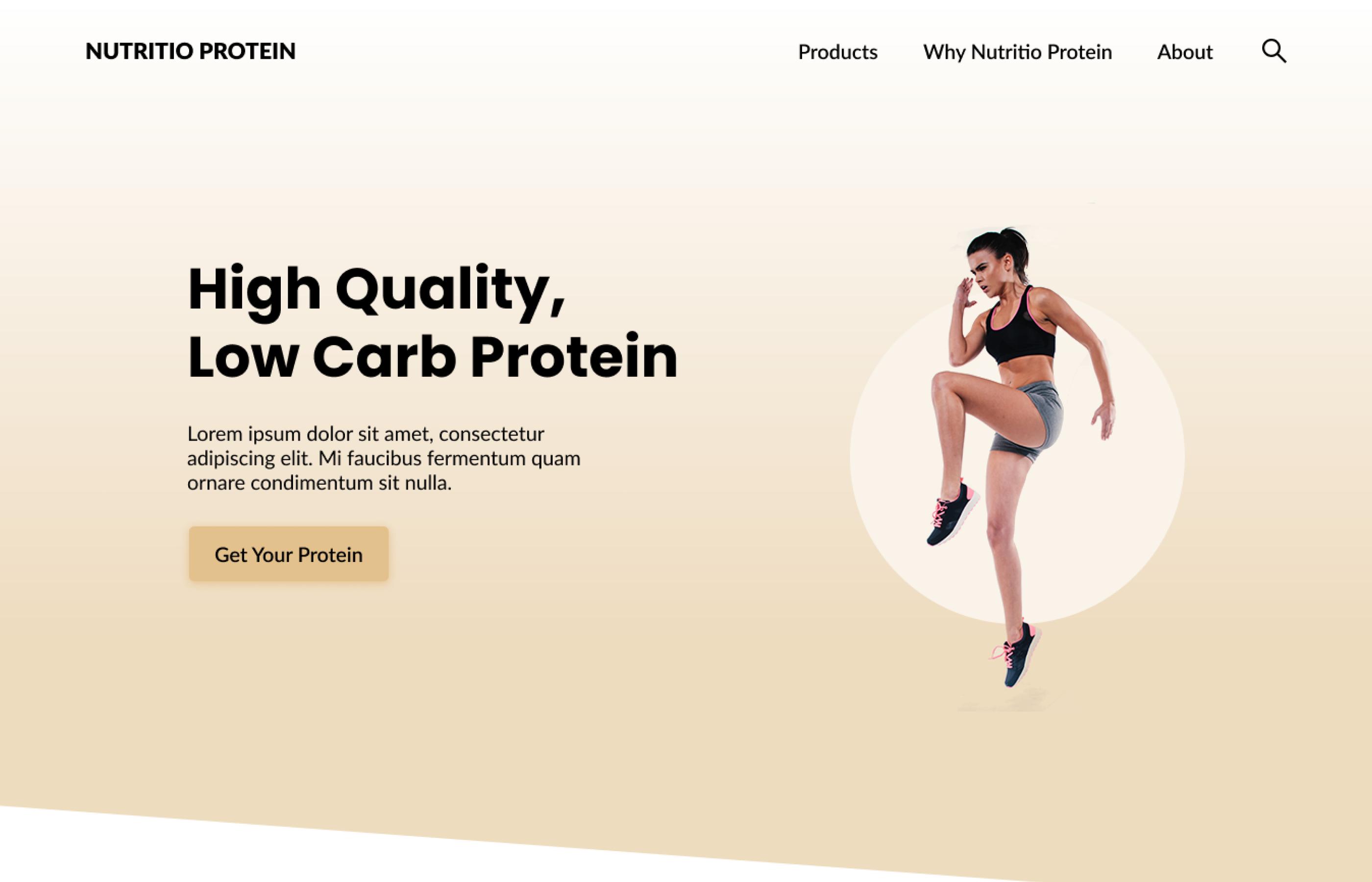 Nutritio Protein by Brett Hudson