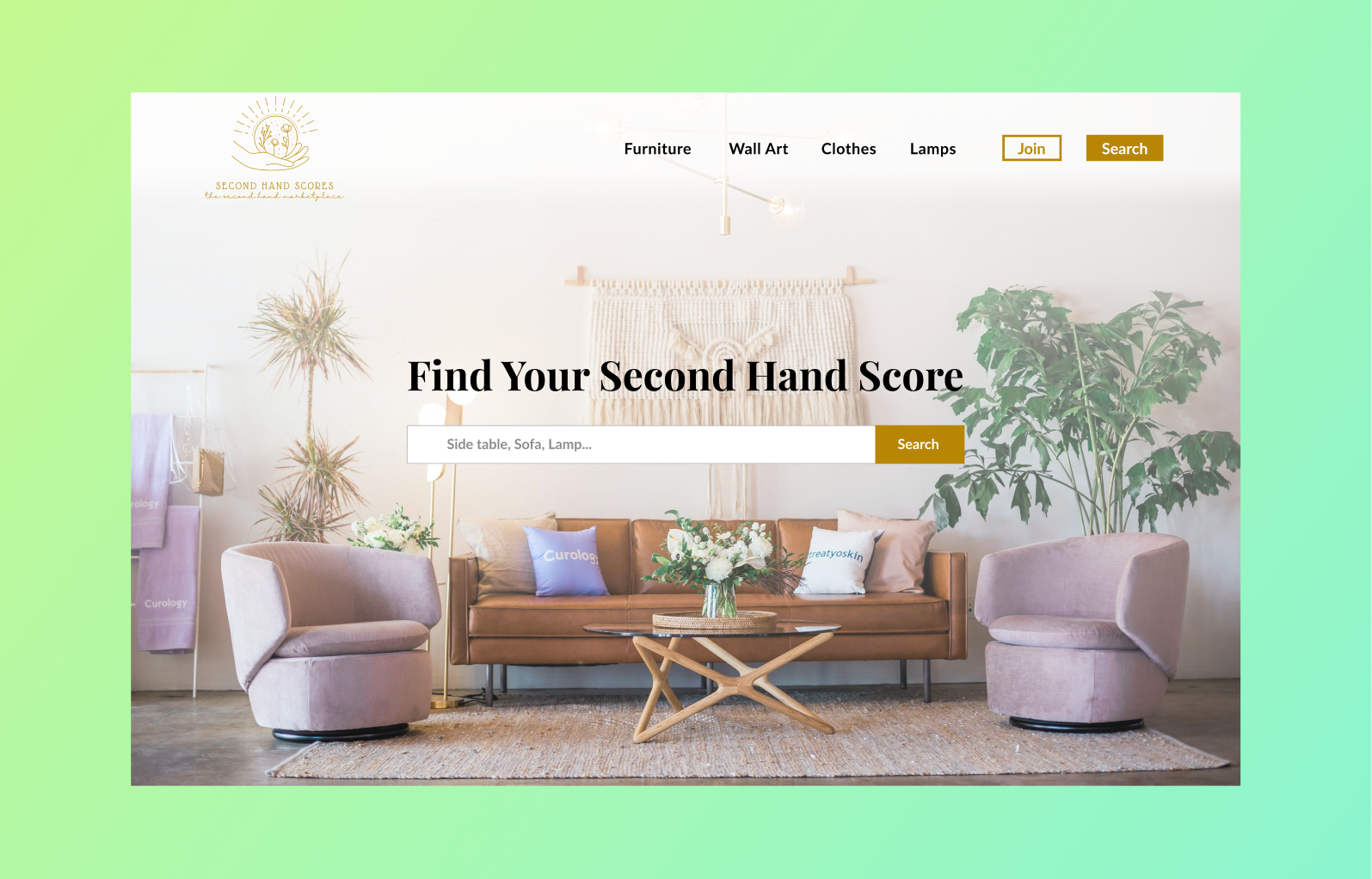 Second-hand Marketplace Template by Brett Hudson