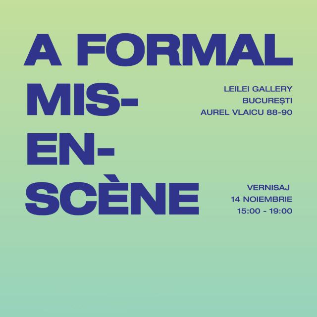 A Formal Mis-en-scene