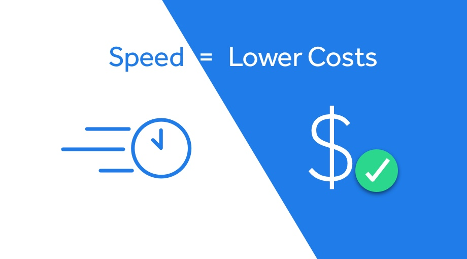 Speed Lowers Costs