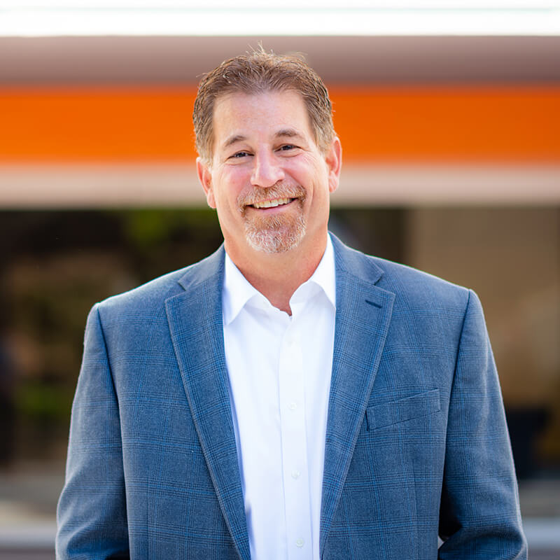 Portrait of Leadership team member Tino Valentino, Chief Financial Officer of Vxtra Health