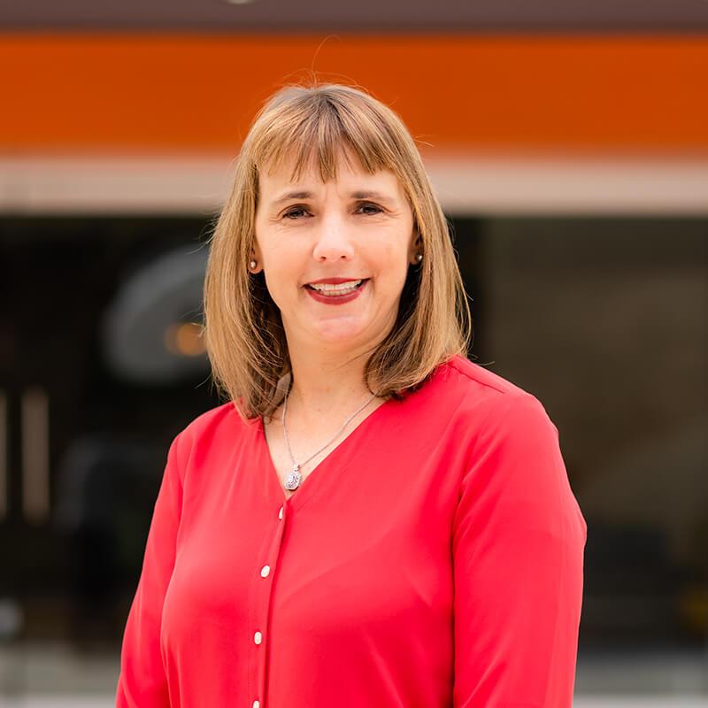 Portrait of Leadership team member Gail Tolbert, Chief People Officer of Vxtra Health
