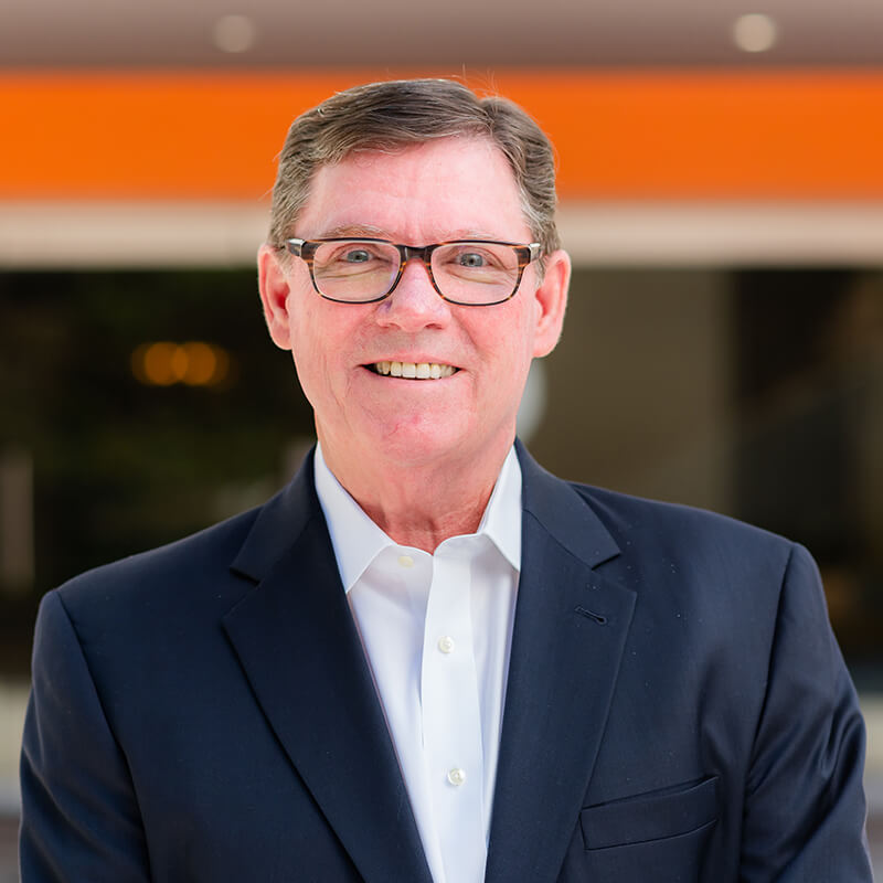 Portrait of Leadership team member Jerry Quinn, Chief Operating Officer of Vxtra Health