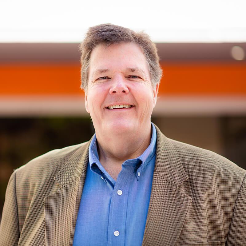 Portrait of Leadership team member Brian Coffey, Chief Information Officer of Vxtra Health