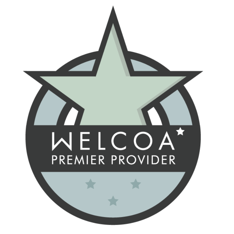 Wellness Council of America (WELCOA) Preferred Provider Network badge for LearnLux financial wellbeing