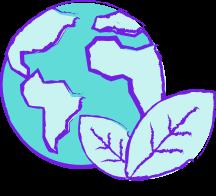 green earth with fleet