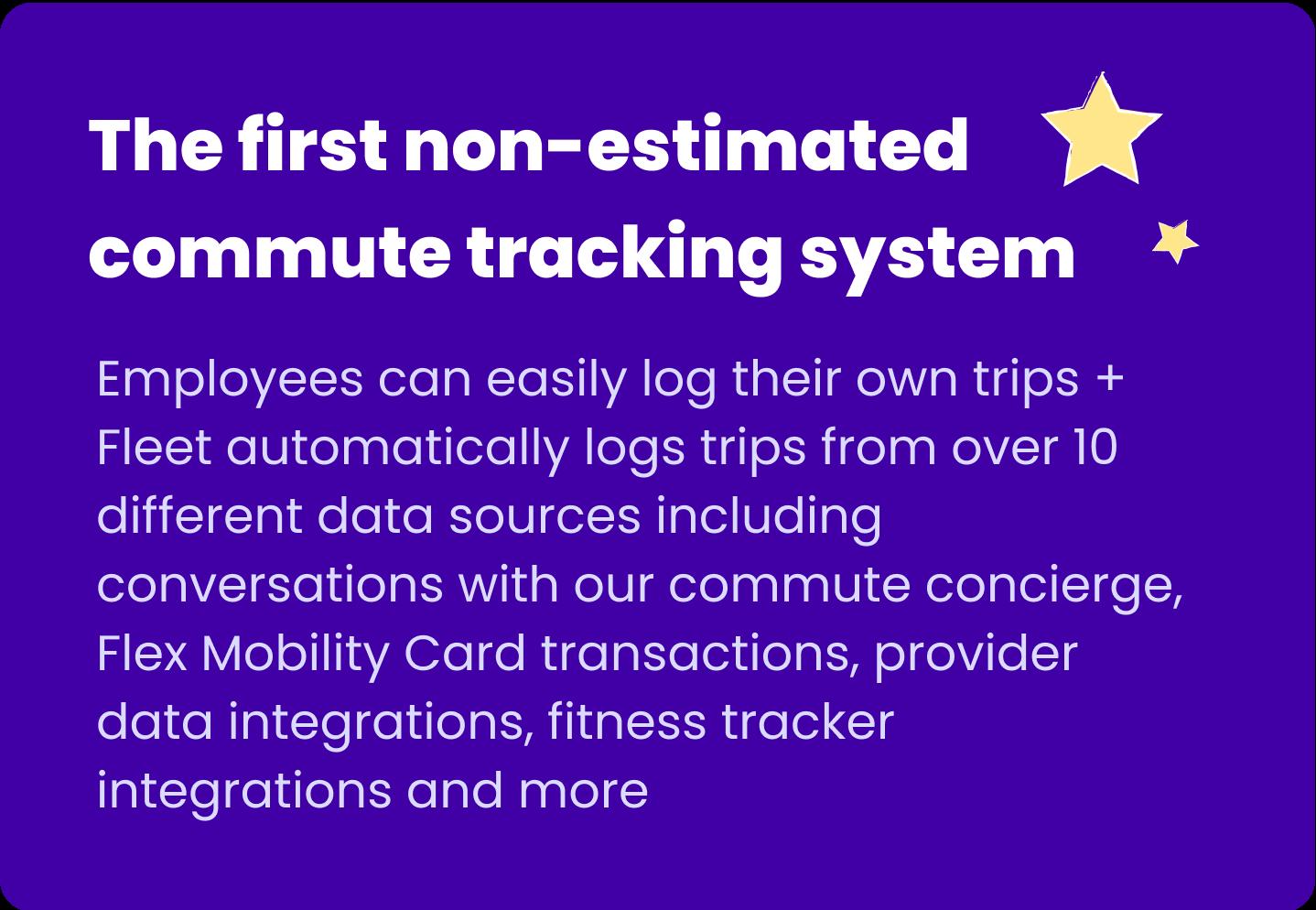 auto commute tracking