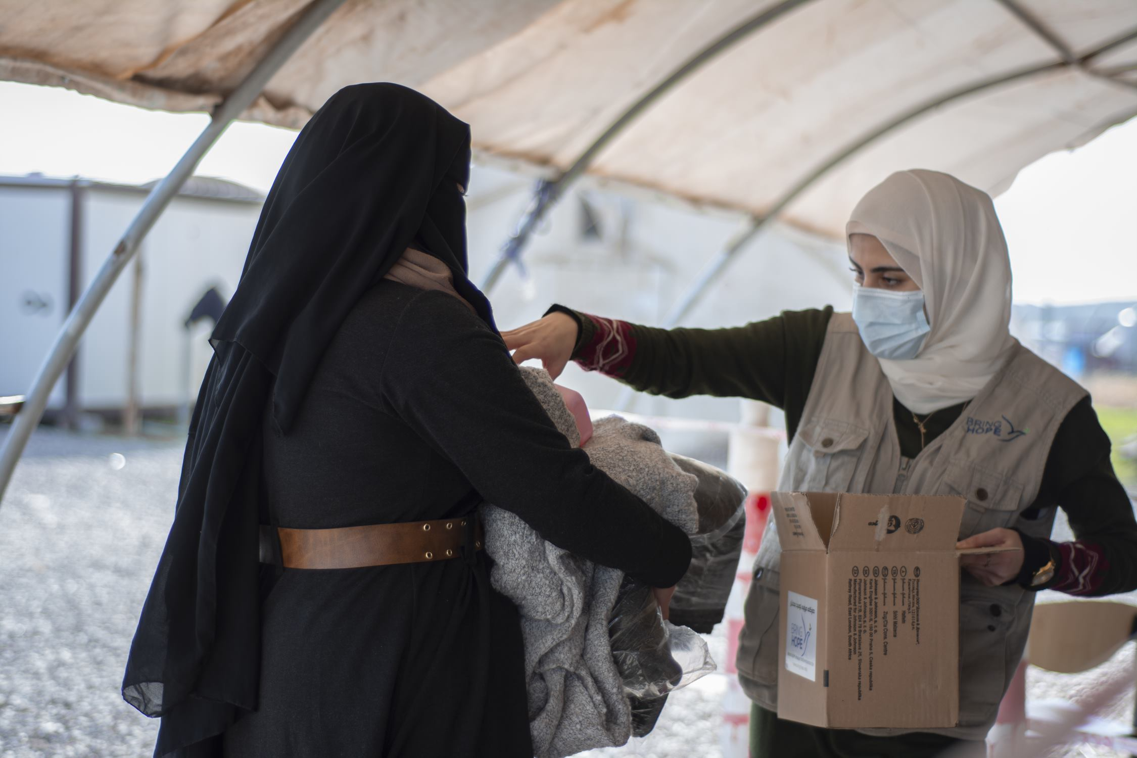 Surgical Masks and other necessities for IDPs and refugees in Northern Iraq
