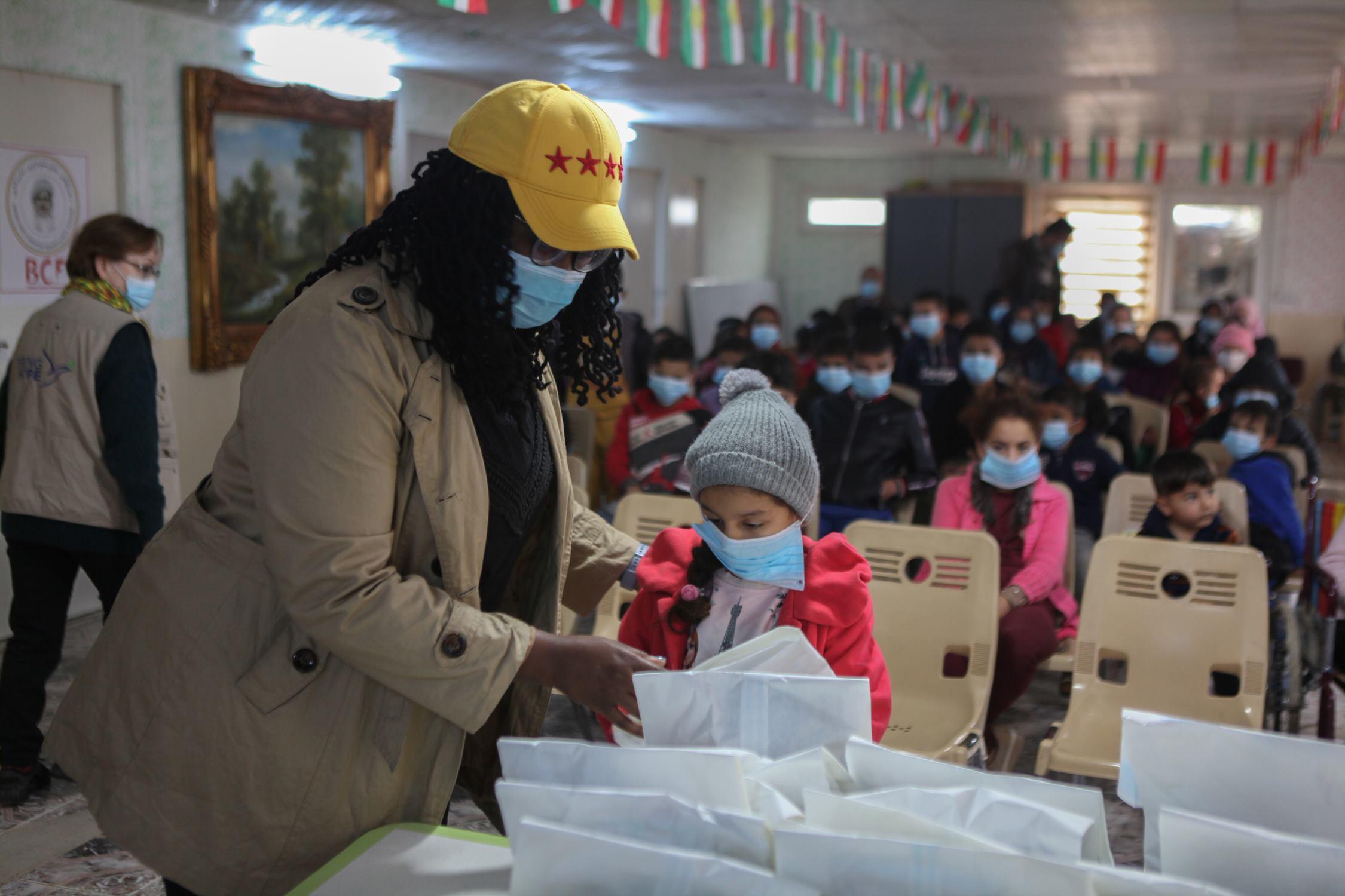 Distribution at Emirates Autism Center in Erbil | June 2021