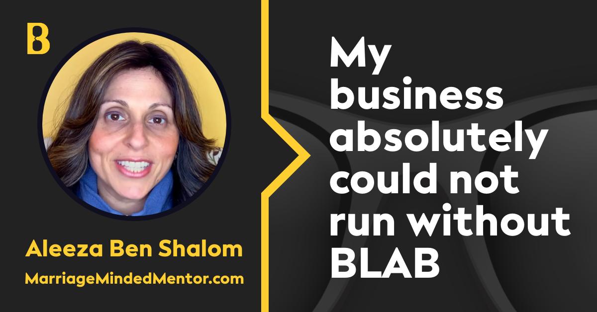 Aleeza Ben Shalom, MarriageMindedMentor.com