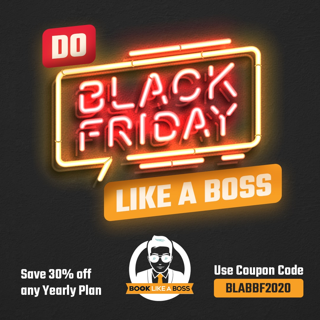 Book Like a Boss- Black Friday Deal