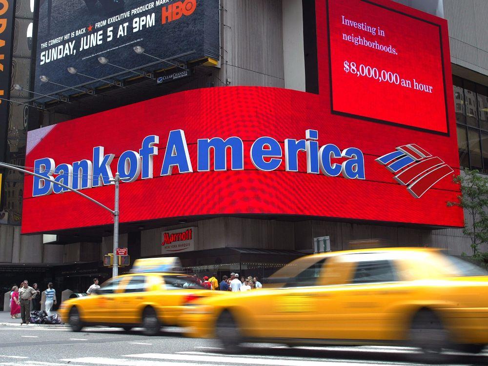 Bank of America (BoA) mise gros sur le bitcoin (BTC)