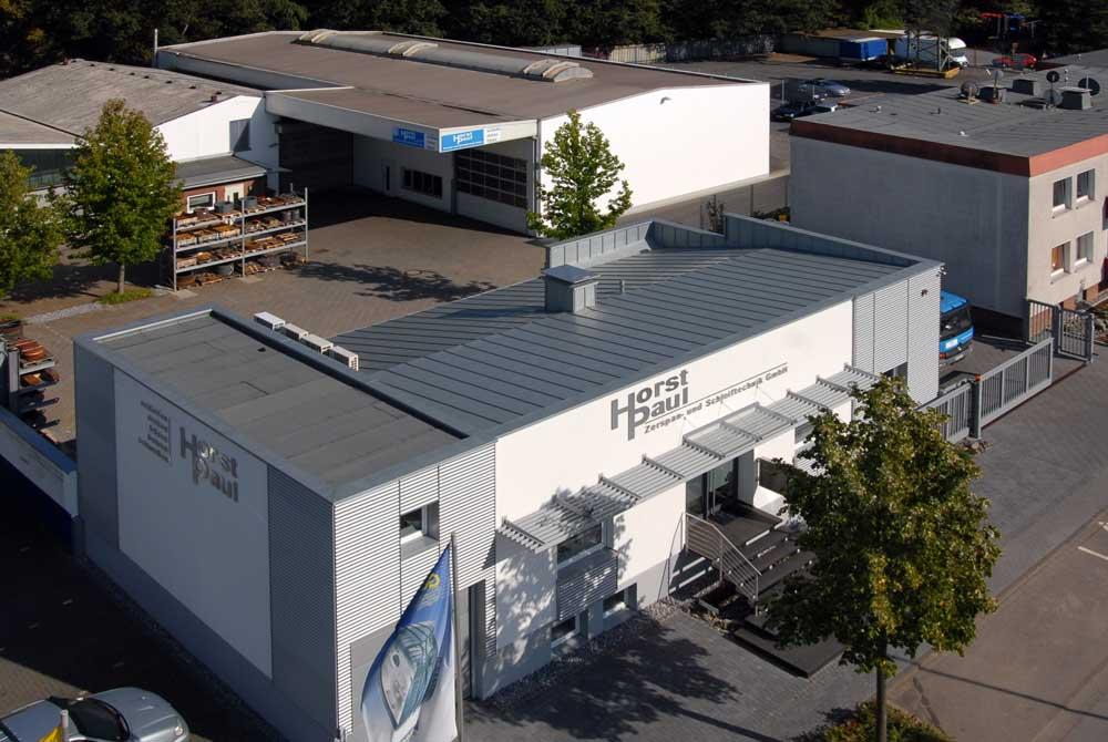 Horst Paul Zerspan- und Schleiftechnik GmbH - Gebäude aus der Vogelperspektive