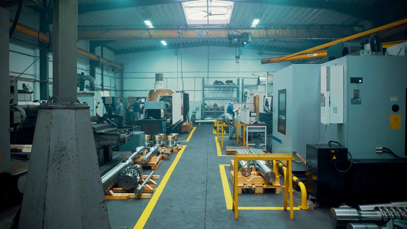 Horst Paul GmbH Produktionshalle