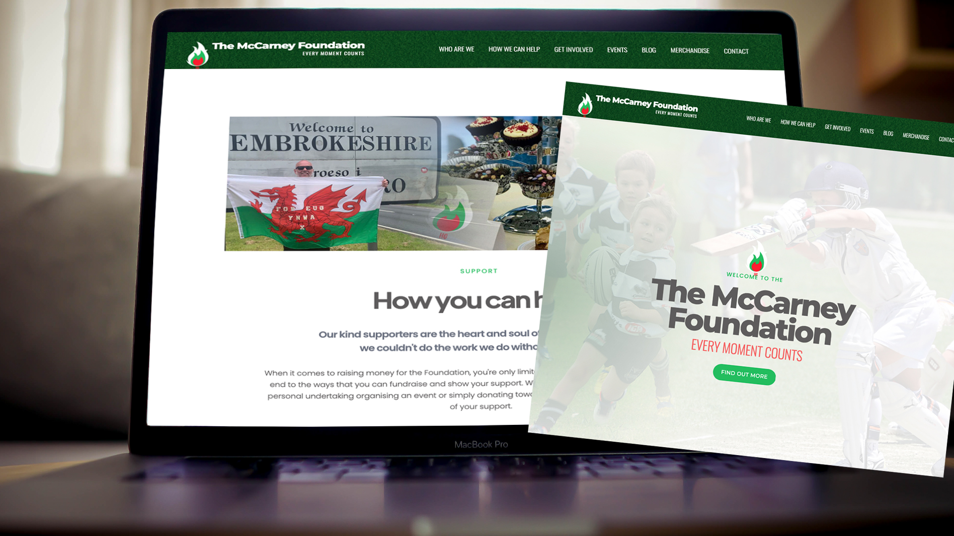 The McCarney Foundation Launches New Website