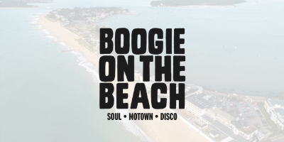 Boogie on the beach logo
