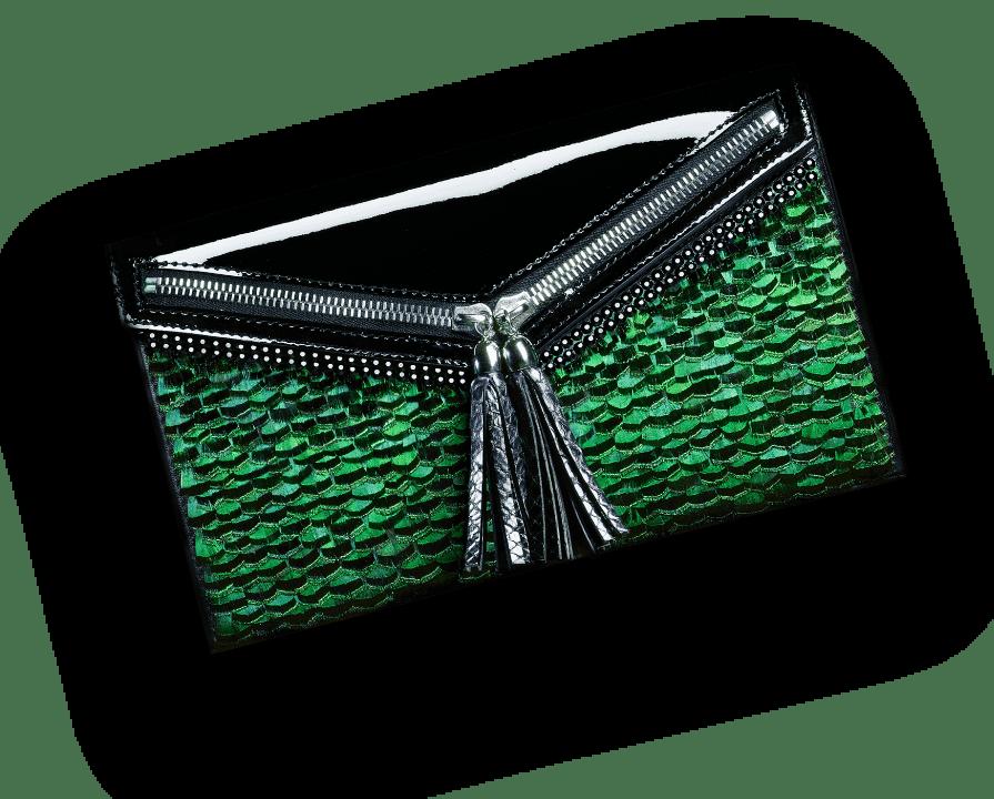 Pochette haute couture Esméralda Ingrid Paris