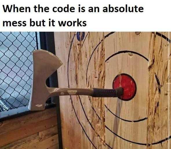 It works