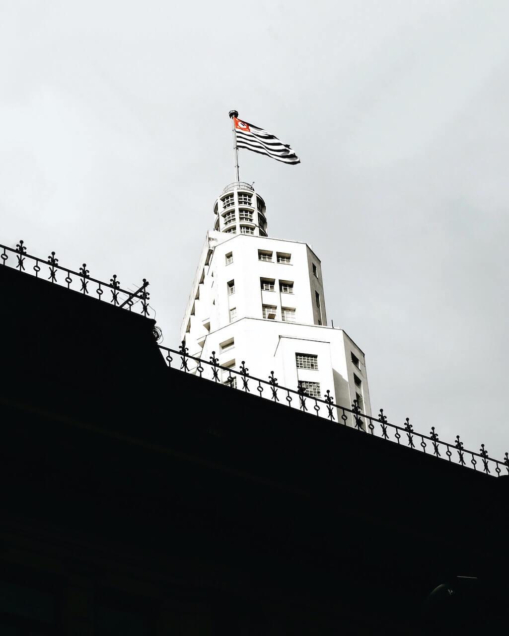 Foto do Farol do Santander na cidade de São Paulo, SP.