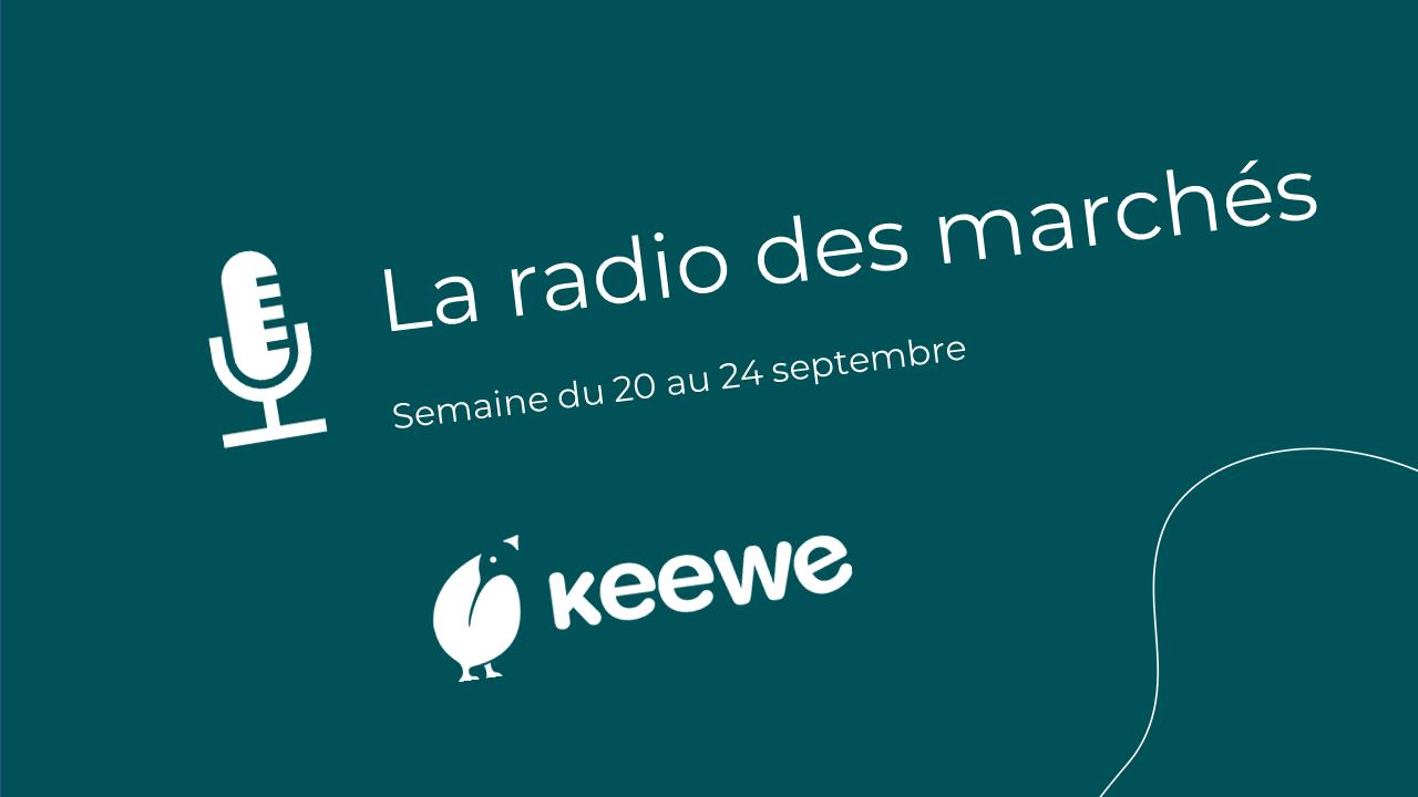 La radio des marchés du 20/09
