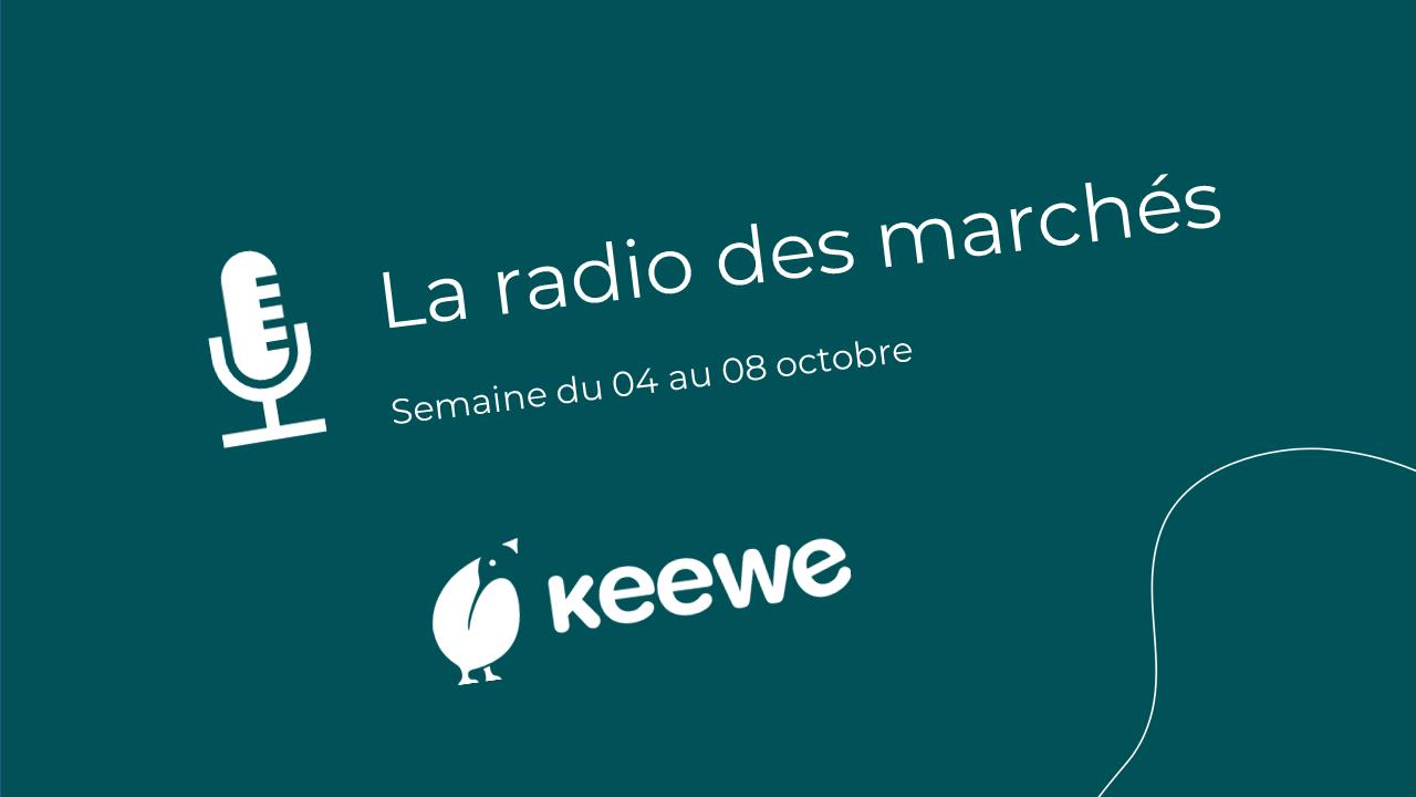 La radio des marchés du 04/10