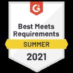 """Certificato di Google """"Best Meets Requirements"""" summer 2021"""