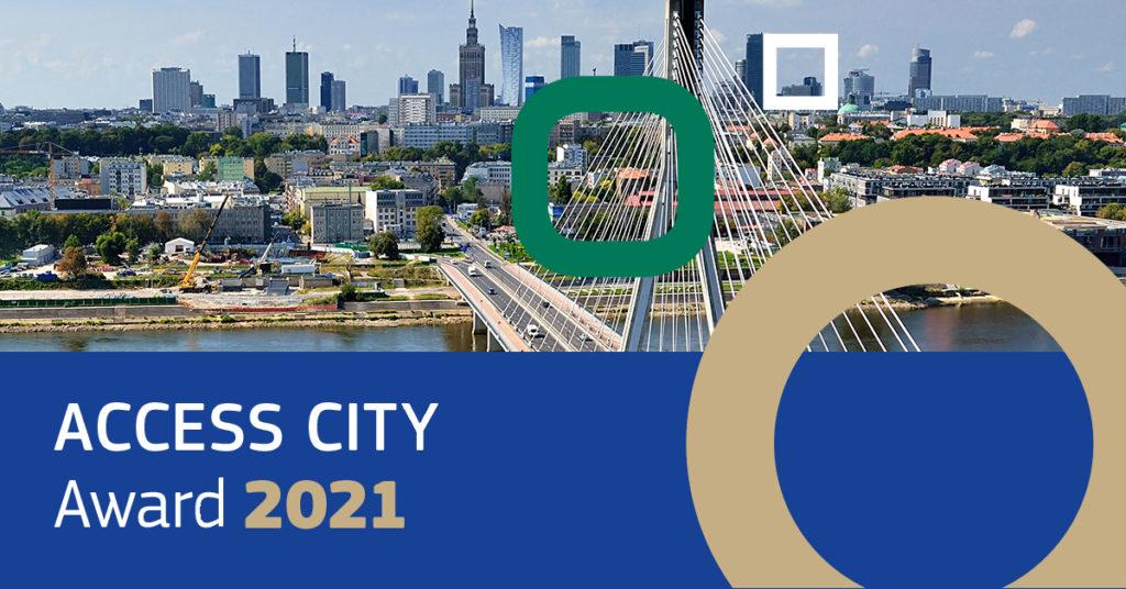 Banner Access city award 2021