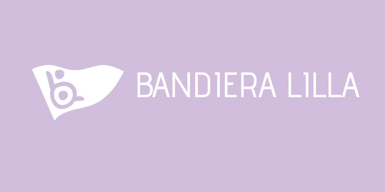 Logo Bandiera Lilla