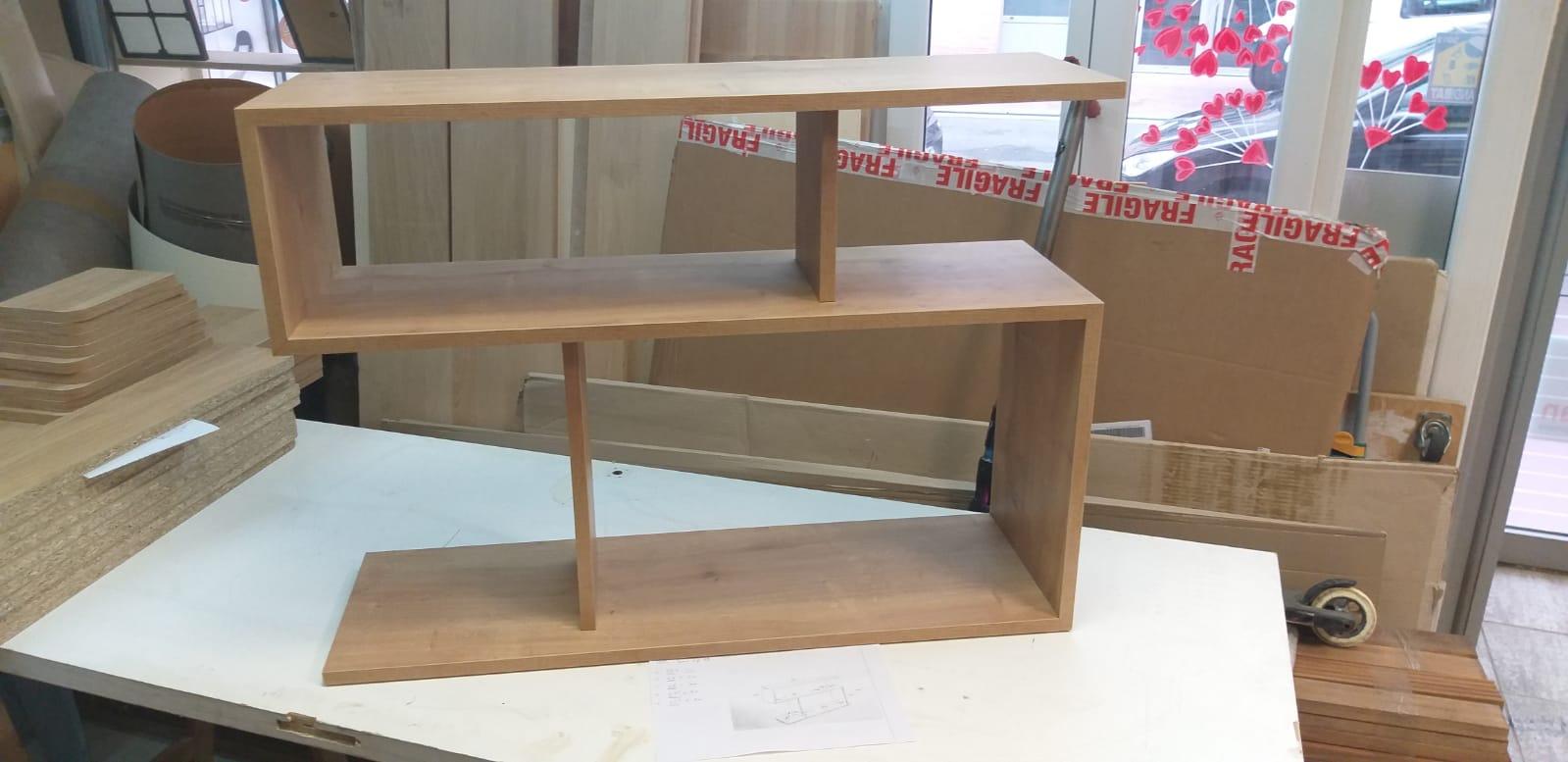 Photo d'un meuble en bois