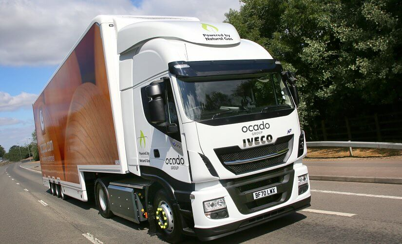 Ocado is continuing to expand its flourishing fleet of Compressed Natural Gas fuelled IVECO Stralis NP (Natural Power) trucks.