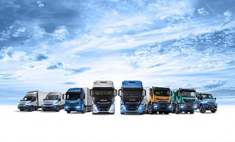 IVECO designs, manufactures and markets a wide range of light vans and medium and heavy commercial vehicles, off-road trucks, and specialist vehicles.
