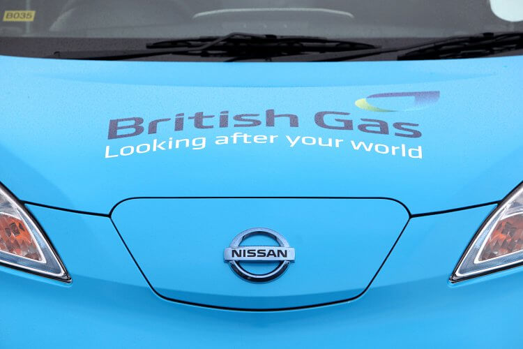 Publicising Europe's largest ever commercial trial of electric vehicles for Nissan, Centrica and Hitachi Capital in the trade, vertical green and EV media.