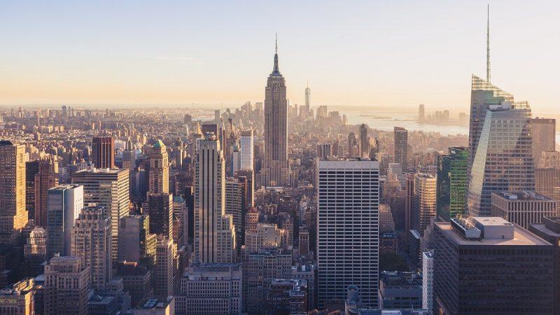 New York City skyline for digital marketing