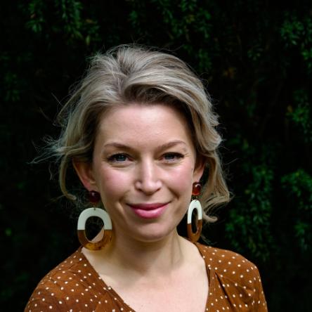 Headshot of a lady smiling