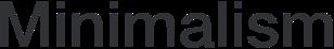 Minimalism logo