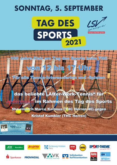 100 Jahre THC am Tag des Sports 5. September 2021