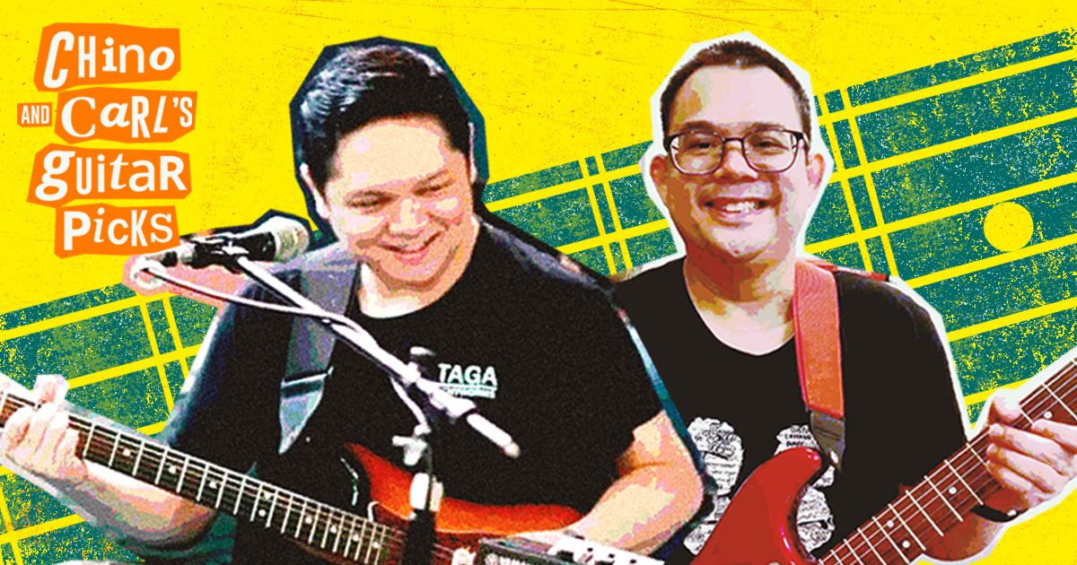 The catchiest guitar intros, according to The Itchyworms' Chino Singson