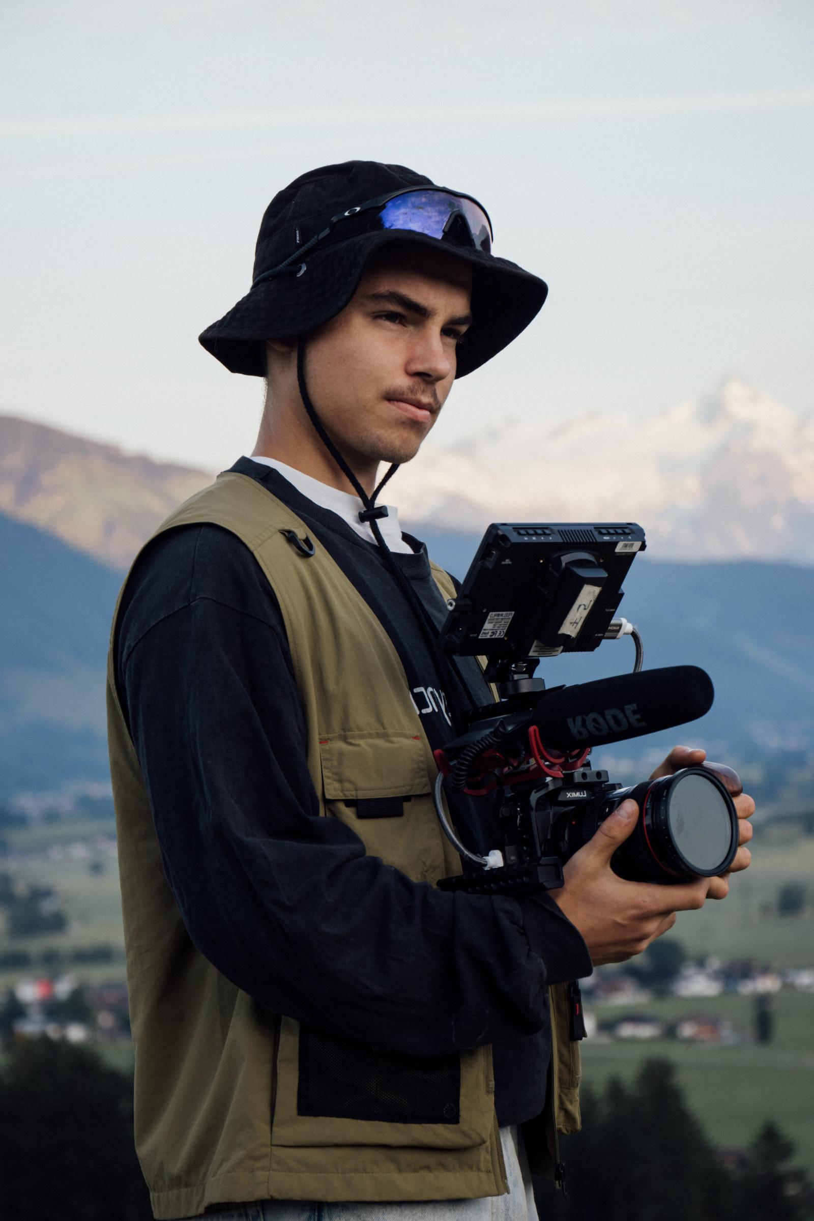david with gh5 camera