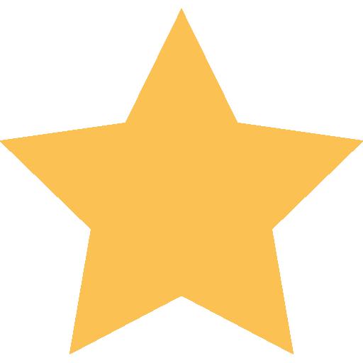rating star yellow icon