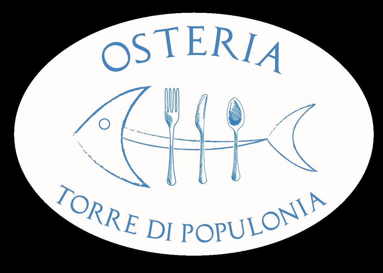 Logo dell'Osteria Torre di Populonia, ristorante di pesce a km zero in Toscana.