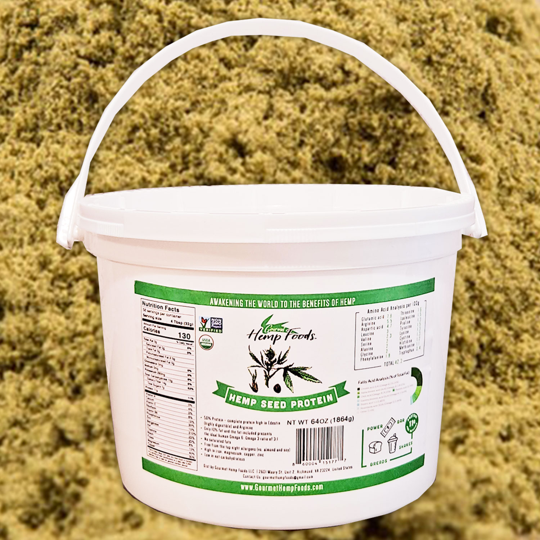 Whole Hemp Seed Protein
