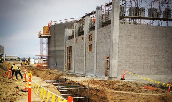 Building Construction using Concrete Masonry Units