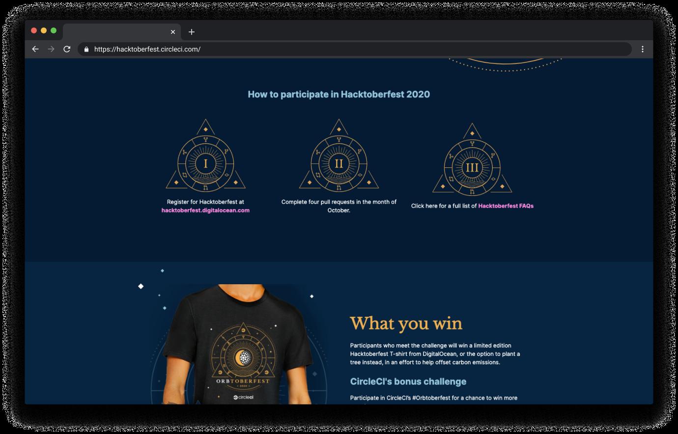 orbtober website