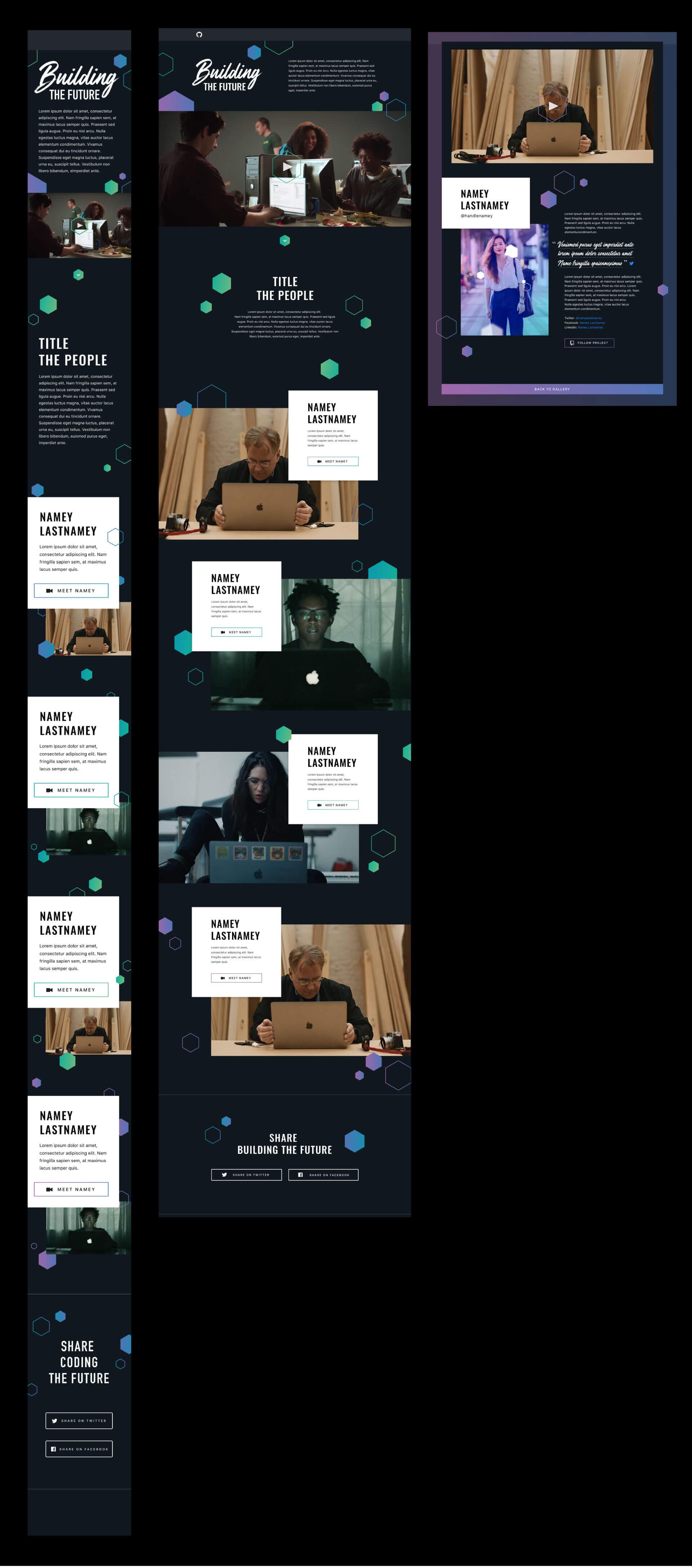 responsive design mockups