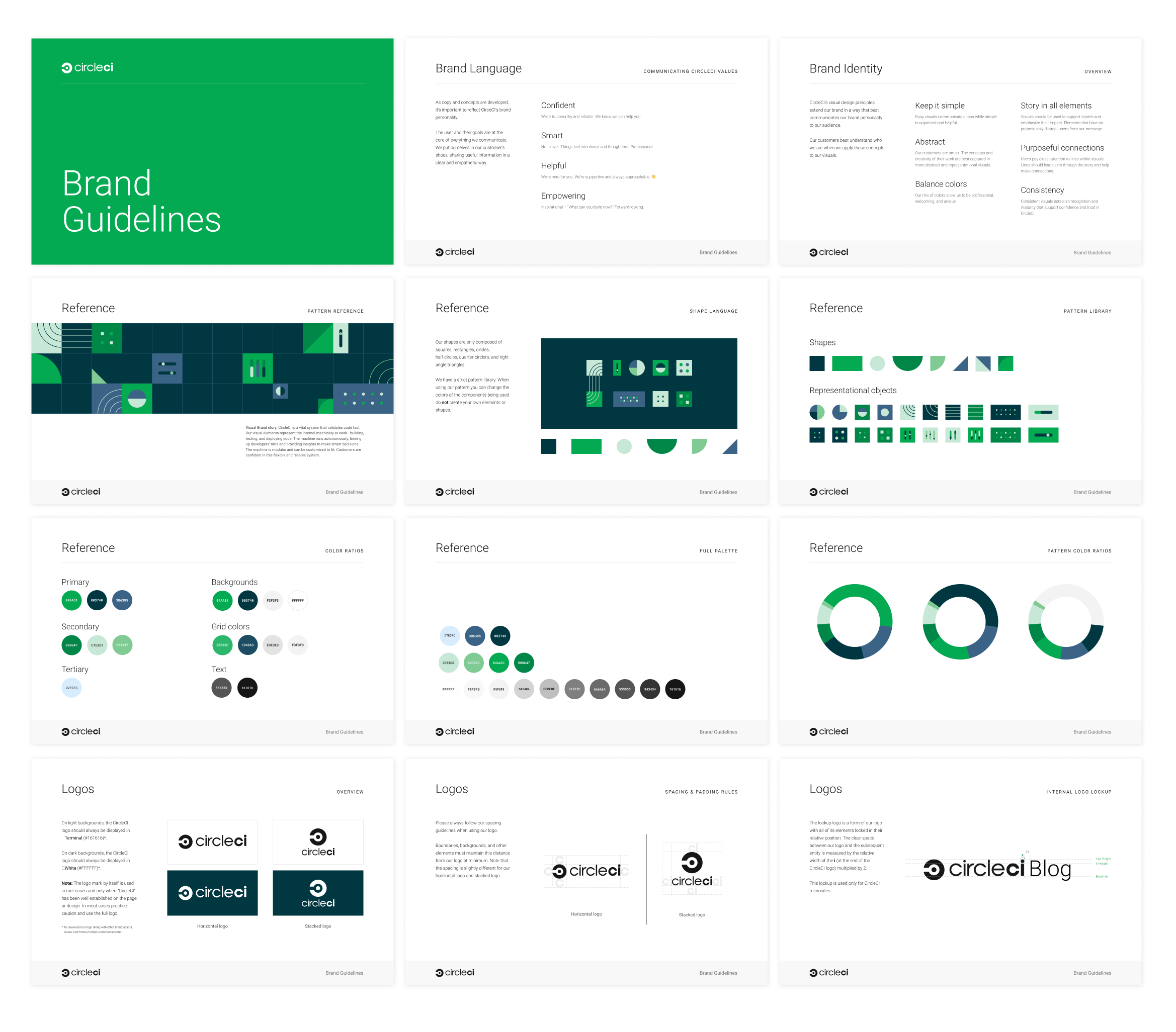 circleci brand guide pages